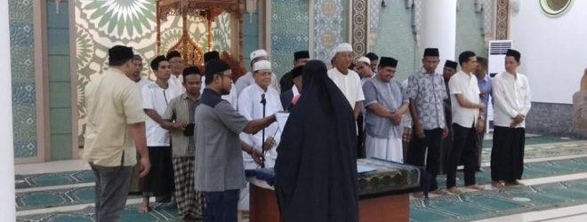 Pelantikan Pengurus BKM Al-Muttaqin Gampong Peunayong Periode 2017-2020