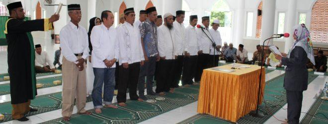 Pelantikan Tuha Peuet Gampong Peunayong Periode 2016-2022