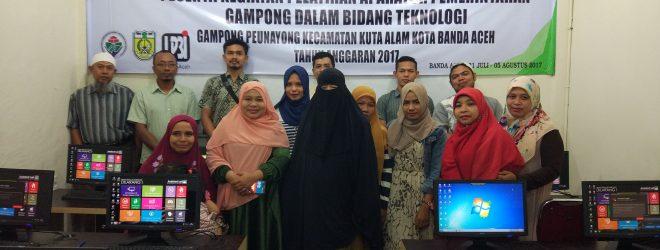 Pelatihan Perangkat Gampong dalam Bidang Teknologi di LP3i Banda Aceh