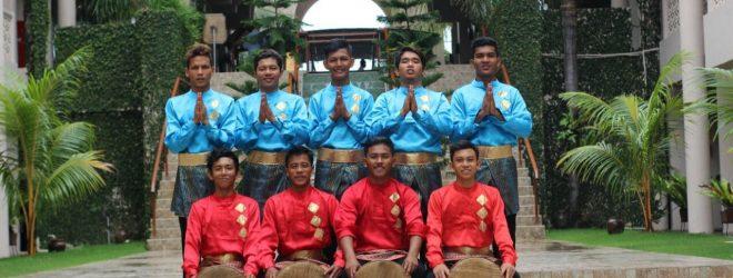 Sanggar Seni Tualang Nanggroe pada Acara Siswa Mengenal Nusantara tingkat SMA (The Pade Hotel)