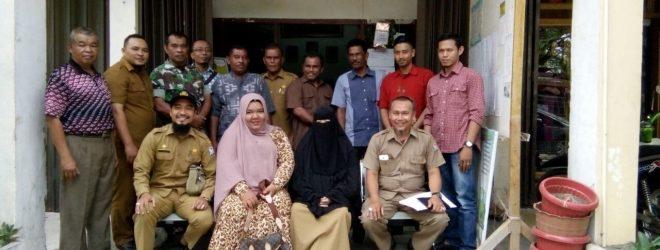 Studi Banding Pemerintah Gampong Panggong Aceh Barat di Gampong Peunayong